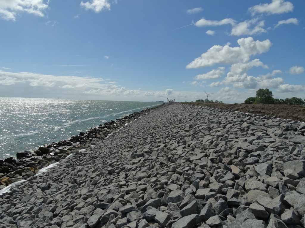 Werk Wieringermeerdijk   Basalt   Waterbouw