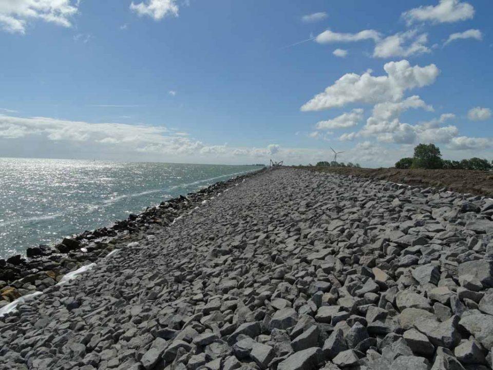Werk Wieringermeerdijk | Basalt | Waterbouw