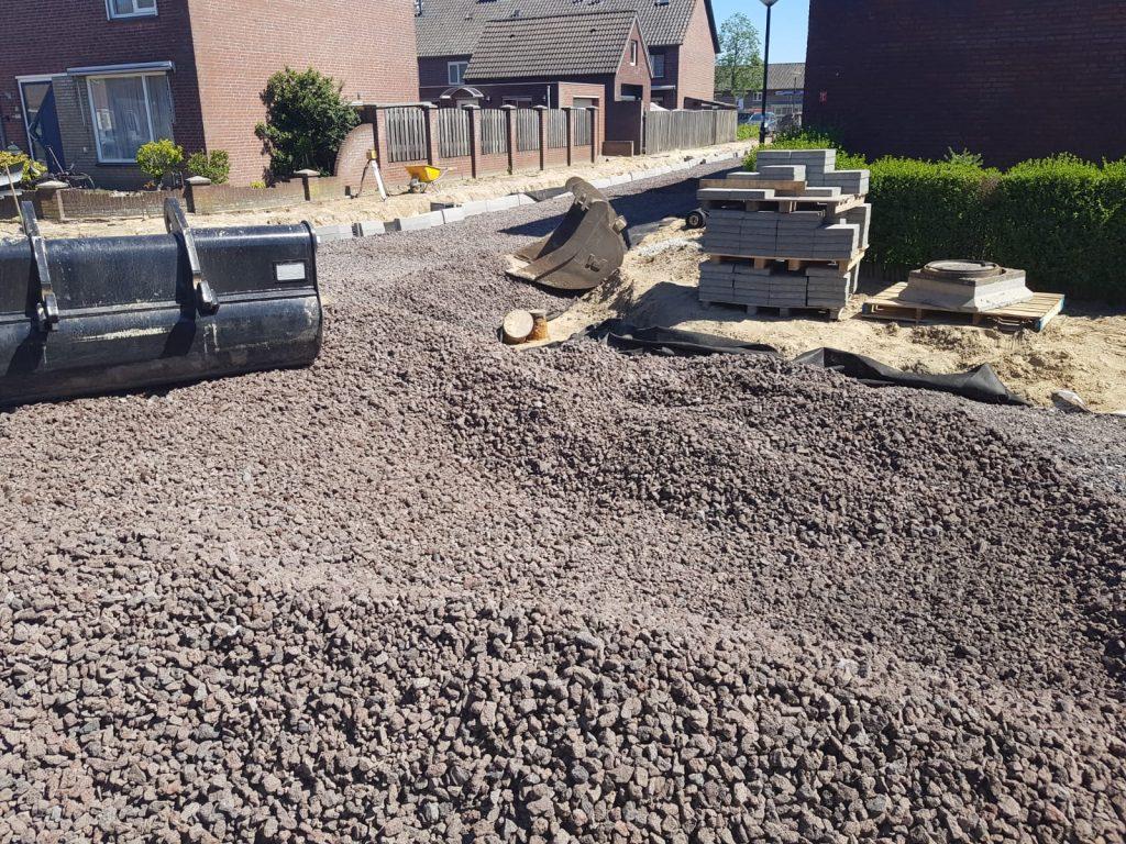 Werk Bloemenbuurt - Veghel | Porodur Lava | Wegenbouw