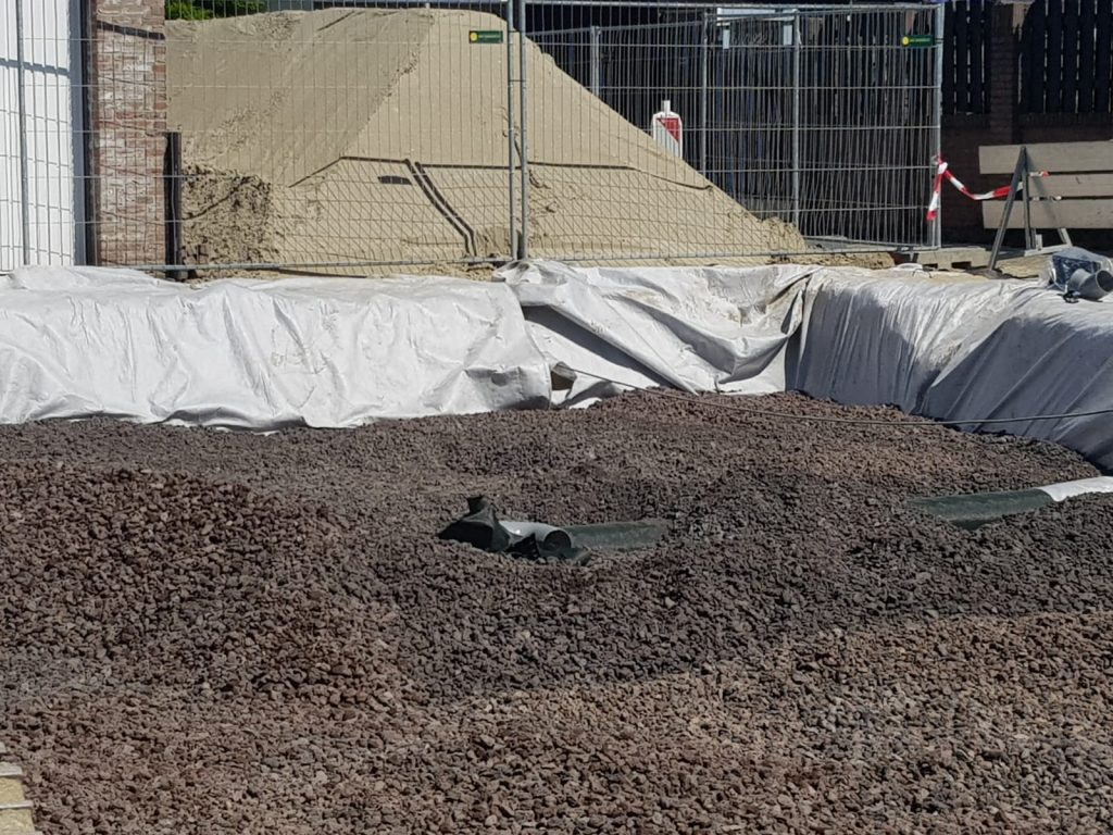Werk Berkenlaan - Bergen Op Zoom | Porodur Lava | Wegenbouw