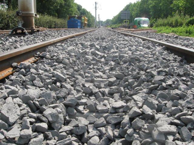 Werk Nieuwegein | Spoorballast | Spoorbouw