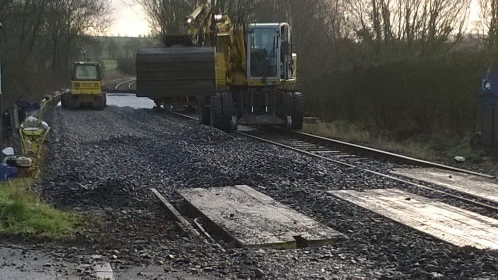 Werk Schin op Geul | Spoorballast | Spoorbouw