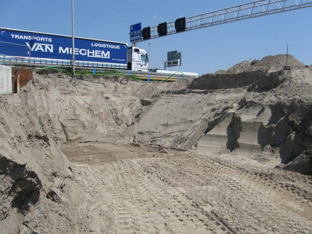 Werk A-Lanes - Rotterdam | Vulkaan Bims | Wegenbouw