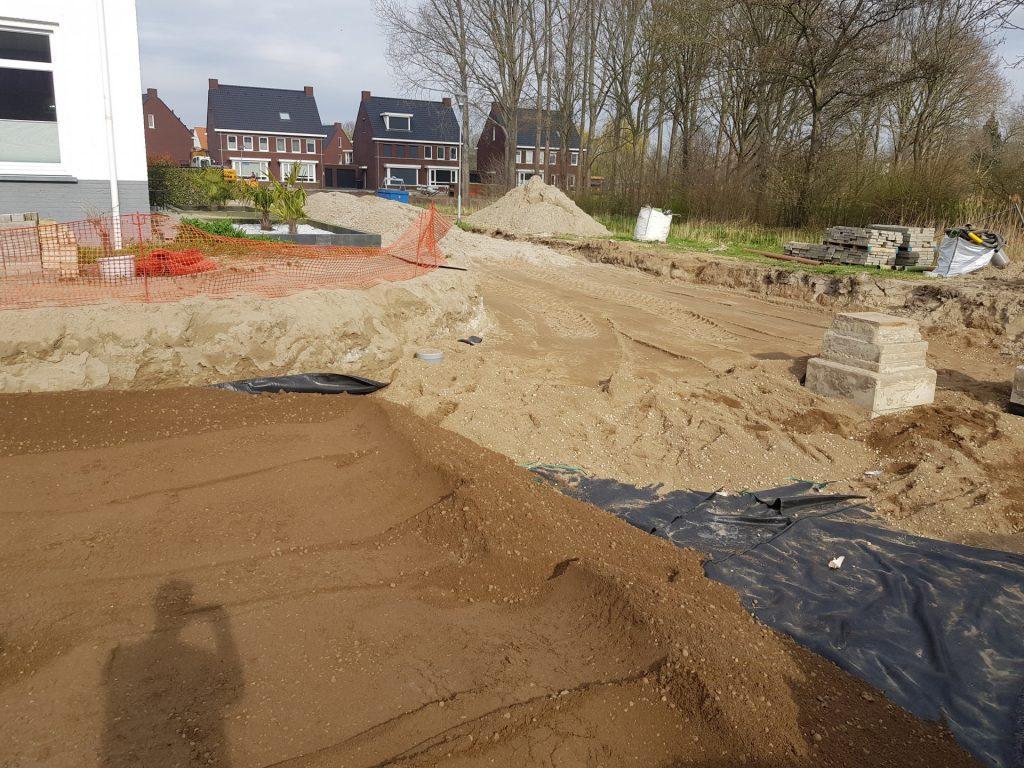 Werk Saffier- Zevenbergen | Vulkaan Bims | Wegenbouw