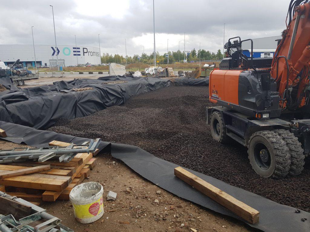 Werk Eindhoven-Flight Forum | Lava 16-32 | Wegenbouw