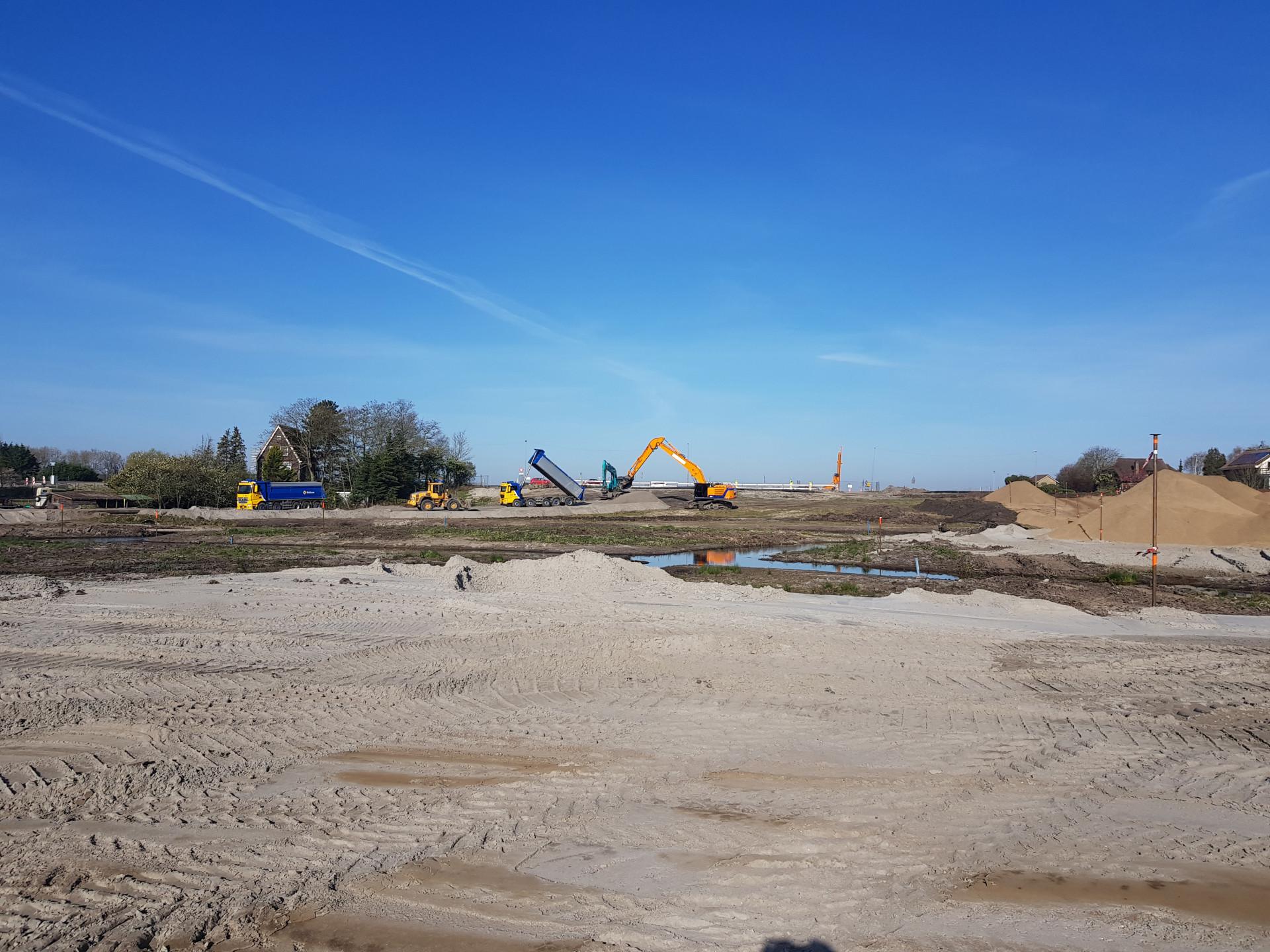 Werk Rotterdam-Bosweg | Vulkaan Bims | Wegenbouw