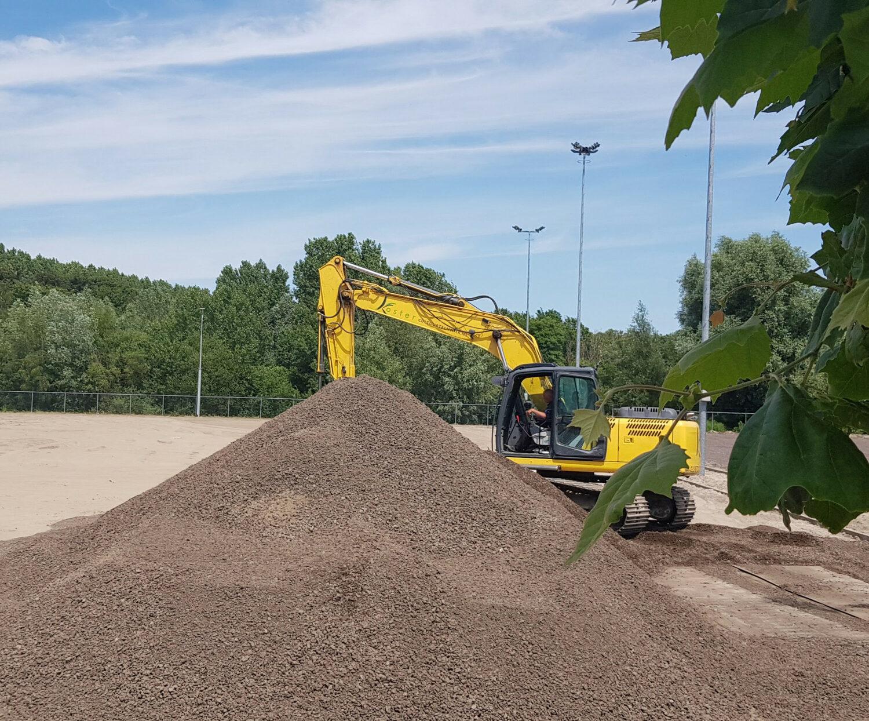 Sporttechnische Onderbouw Lava Waberveld Reeuwijk