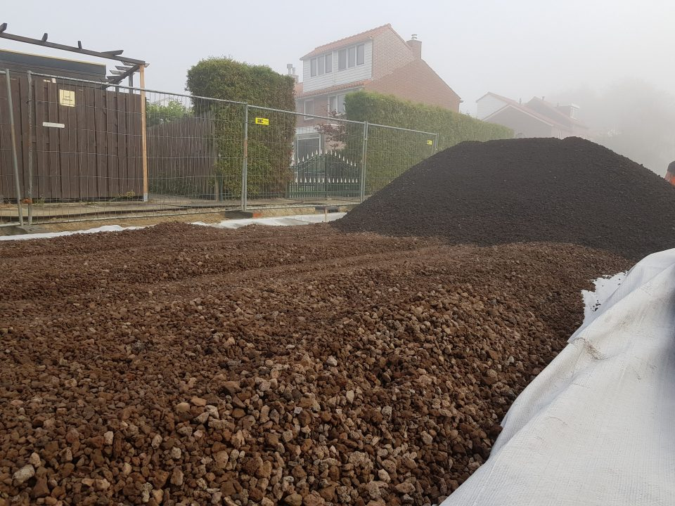 Werk De Lier | Porodur Lava | Wegenbouw