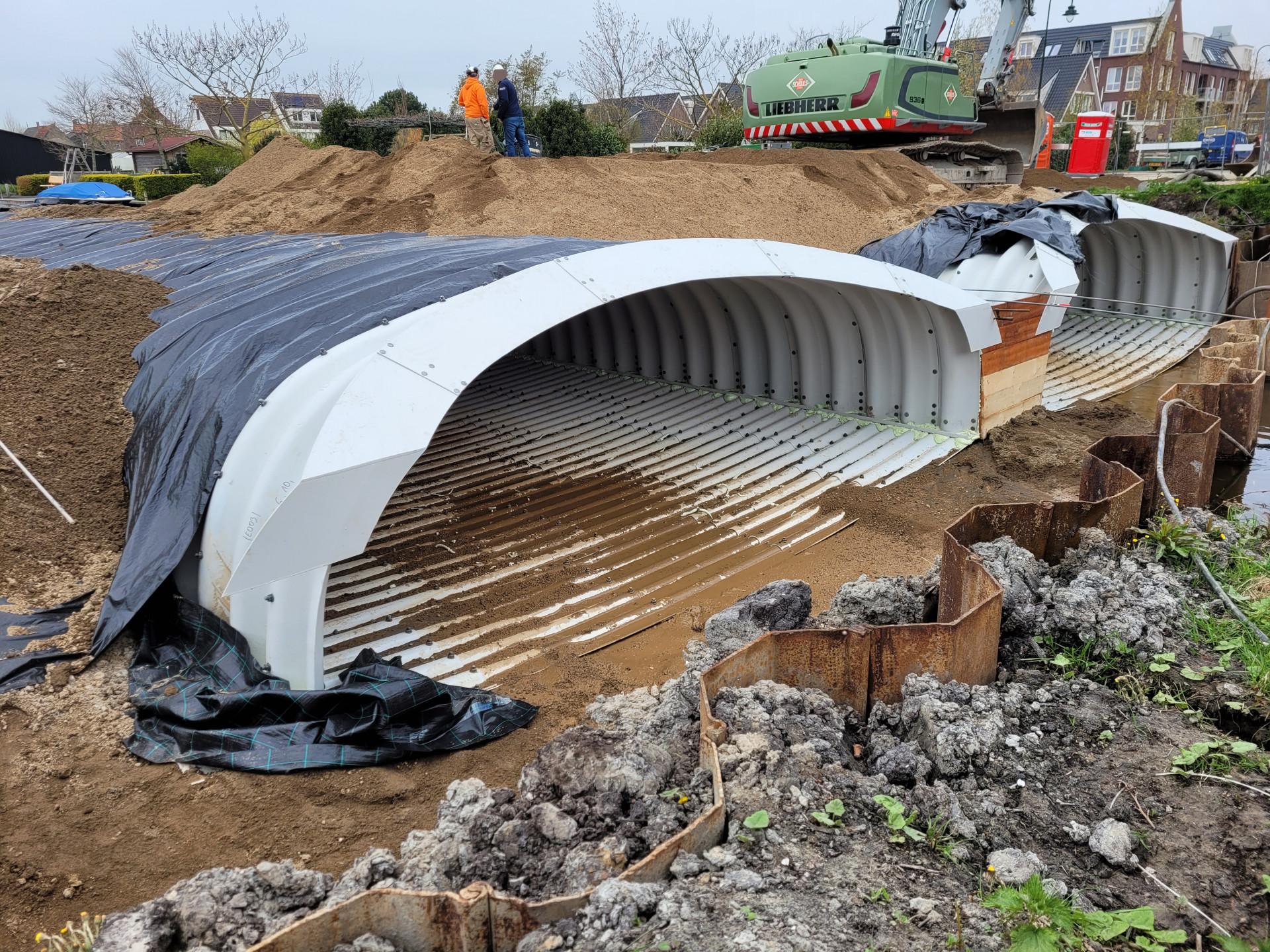 Werk Roelofarendsveen   Flugsand   Wegenbouw
