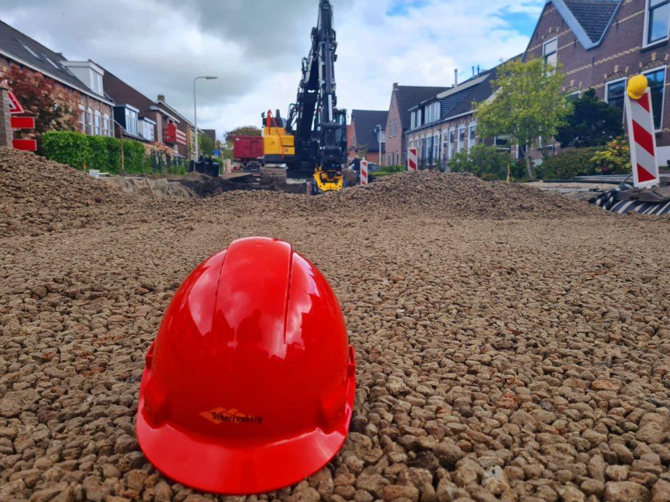 Werk Driebruggen-Kerkweg | IJslandse Bims-Flugsand | Wegenbouw